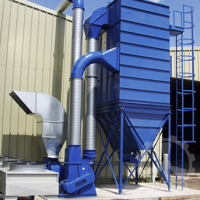 Hệ thống hút bụi kim loại công nghiệp