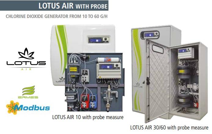 Hệ thống khử trùng nước bằng Chlorine Dioxide CLO2_ Của hãng Emec