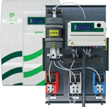 Hệ thống khử trùng nước bằng Chlorine Dioxide _ Lotus Air