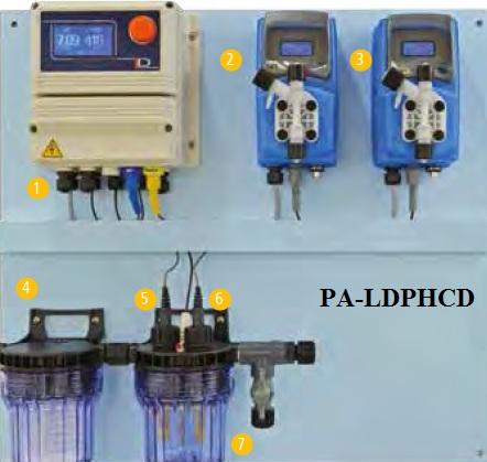 PA-LDPHCD _ Thiết bị đo và kiểm soát pH, độ dẫn điện trong nước