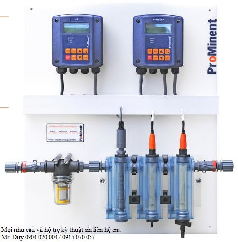 Bộ đo và kiểm soát nồng độ PH trong nước D1Cb của hãng Prominent