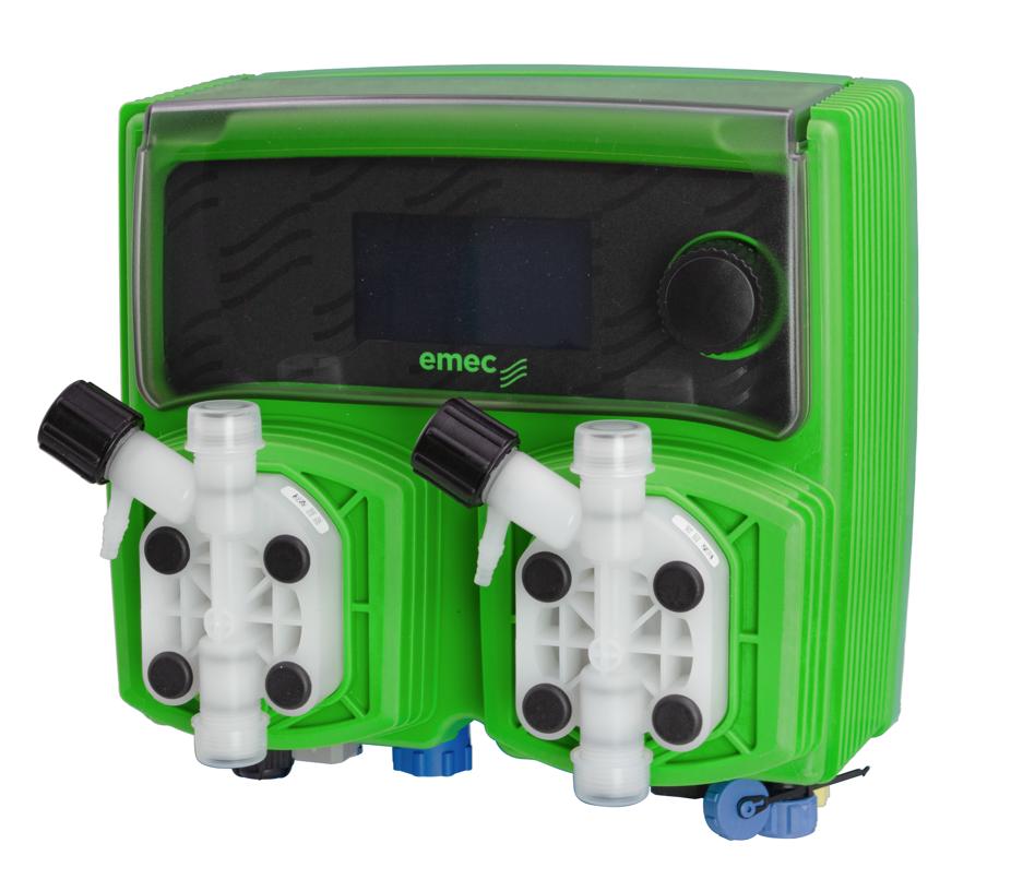 Thiết bị đo hiển thị và kiểm soát pH, ORP tích hợp bơm định lượng hóa chất