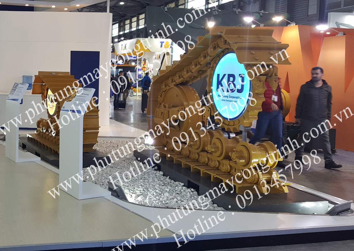 Dải xương xích dùng cho máy ủi KOMATSU D7R