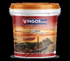 Sơn lót siêu kháng kiềm ngoại Vingos nano V-1300
