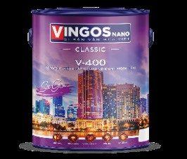 Sơn bóng nội thất Vingos NaNo V-400