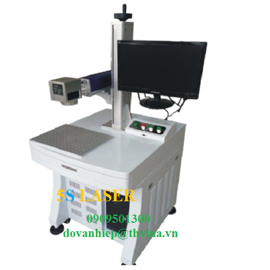 Máy khắc laser fiber MOPA (Máy khắc màu) model AKF- MOPA20W