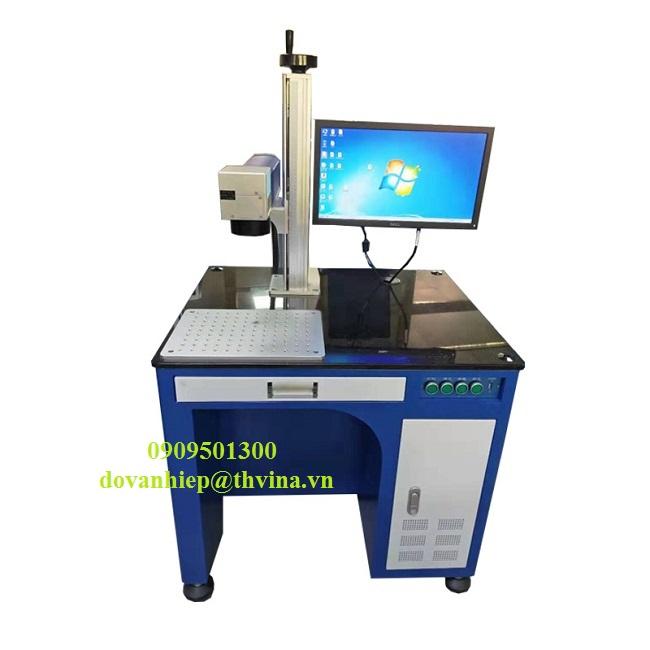 Máy khắc laser fiber model AKM-FL20W