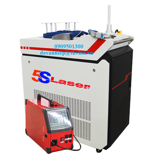 Máy hàn laser fiber cầm tay model AKW-S1000W