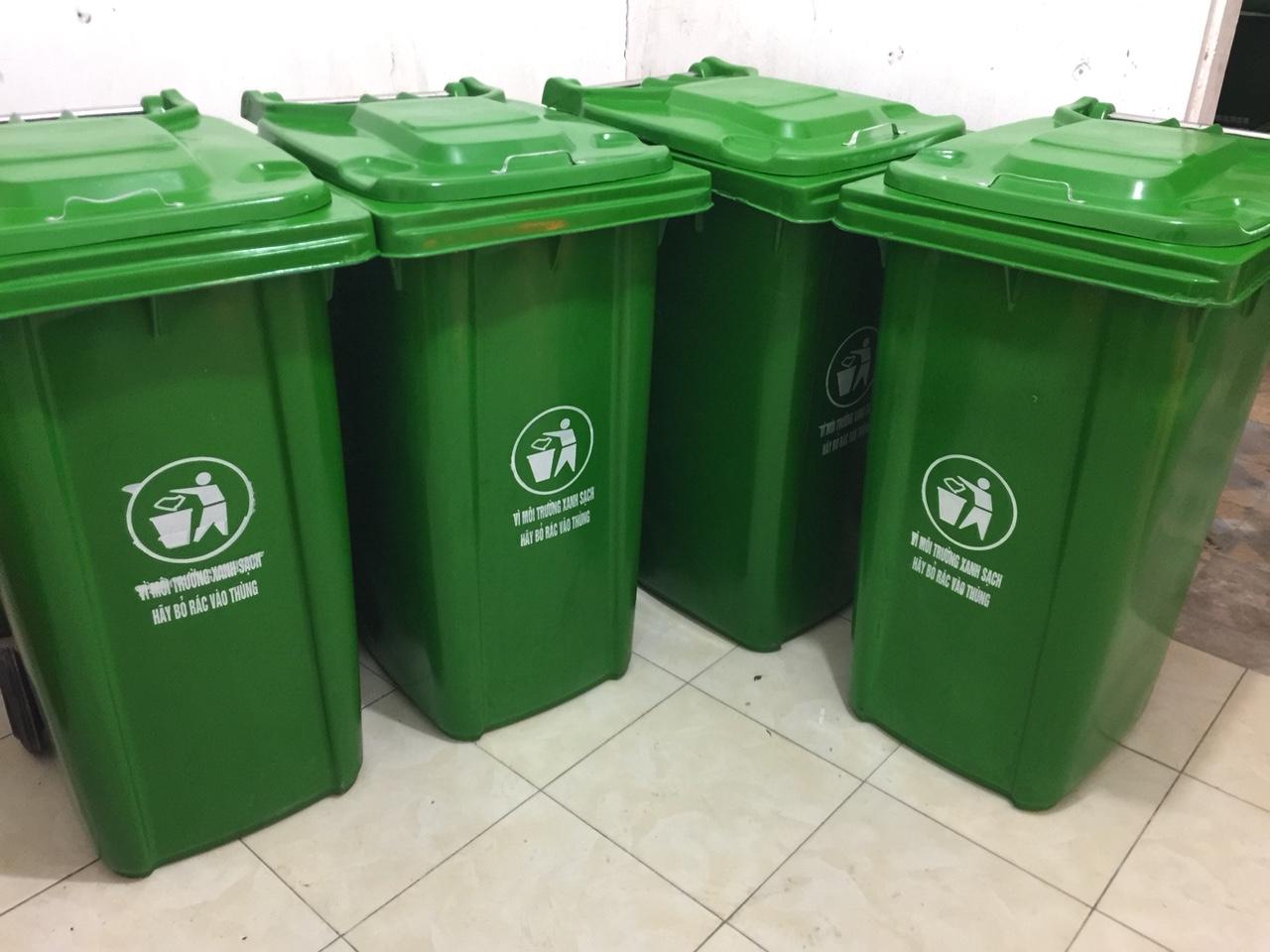 Bán các loại thùng đựng rác gia đình 60 lít - giao hàng miễn phí