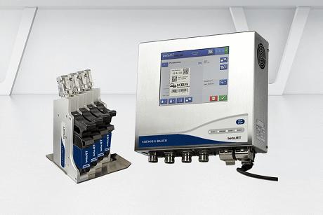 Koenig & Bauer- Hệ thống in phun mã vạch DOD- Dòng betaJET