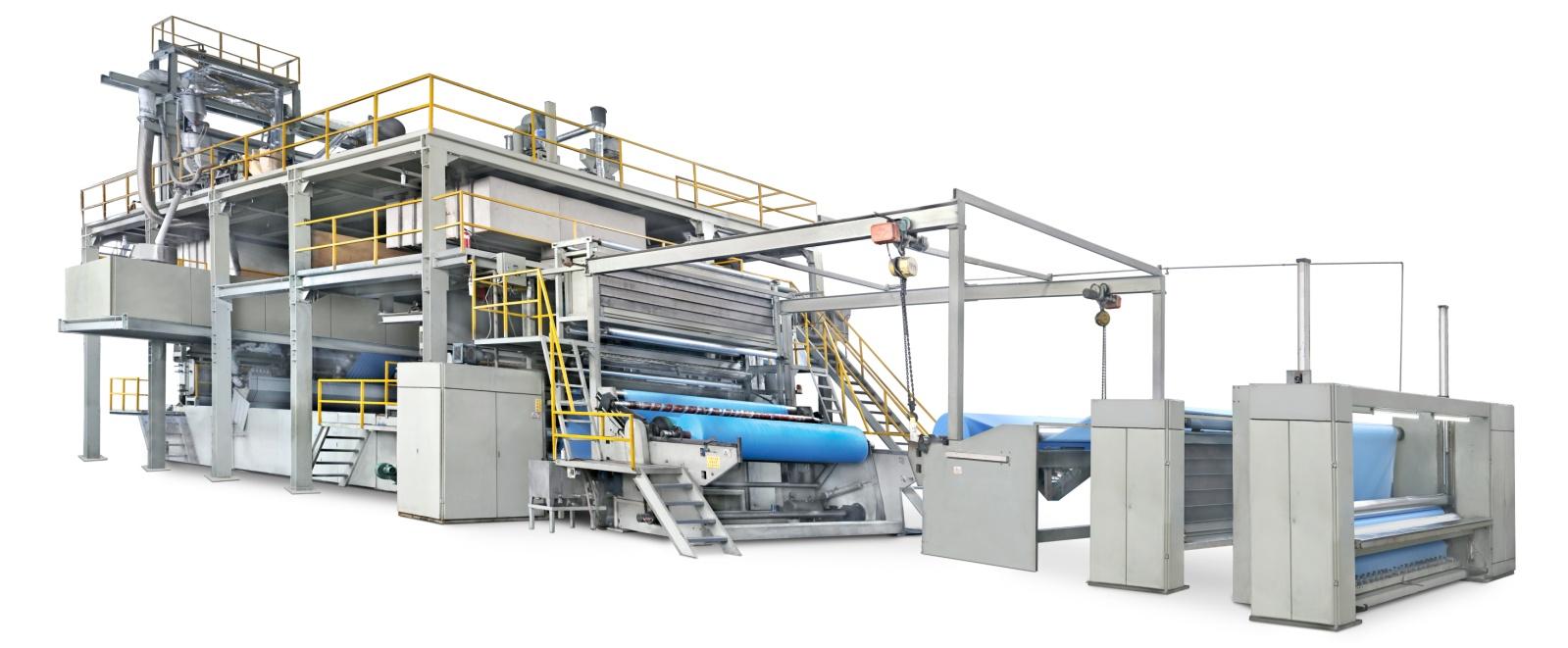 Dây chuyền sản xuất vải không dệt s/ss/sms/smms