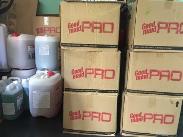 Chất tẩy dầu mỡ công nghiệp Goodmaid Pro GMP 64 Grease-z