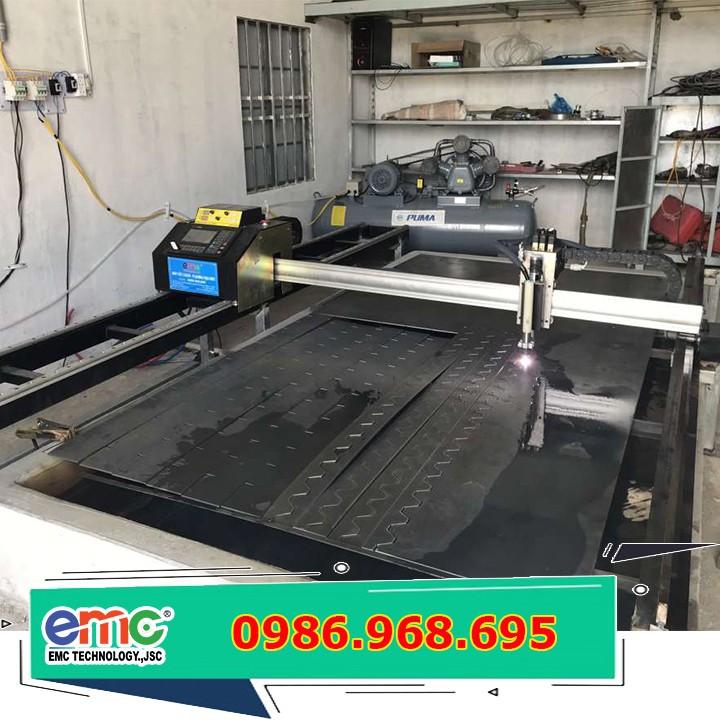 Máy cắt CNC Plasma Mini 2 ray EMC-1600 pro
