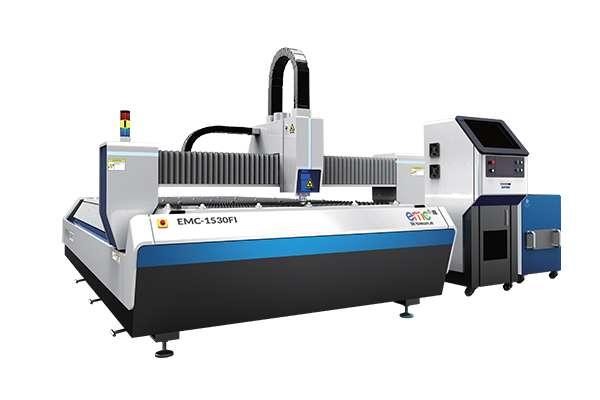 Máy cắt CNC Laser Fiber bàn đơn EMC-1530F