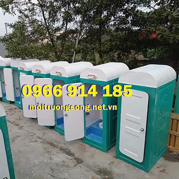 Nhà vệ sinh di động composite đơn giá rẻ chất lượng