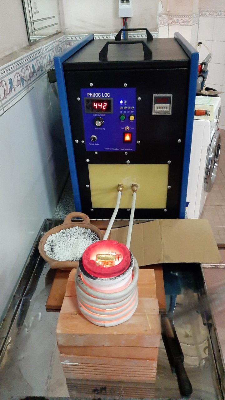 Máy nấu trung tần cao tần 20kva