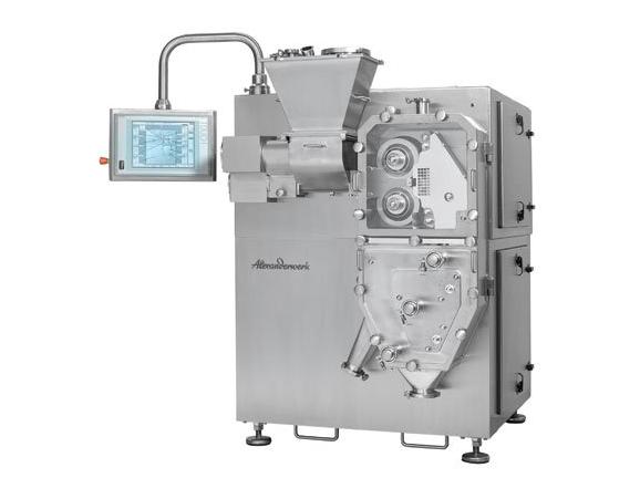 Máy cán tạo hạt khô WP200- Roller compactor WP200- Sản phẩm của Alexanderwerk