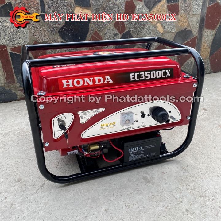Máy phát điện Honda EC3500CX có đề