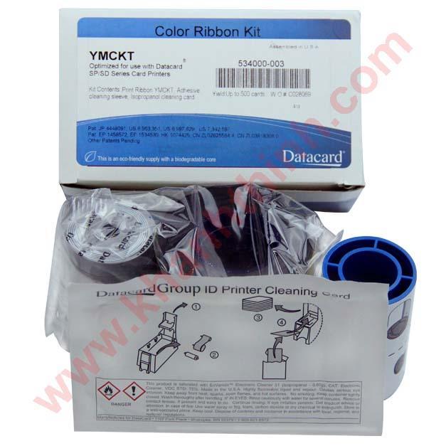 Ruy băng mực màu Datacard SD260/ SD360 (534000-003)
