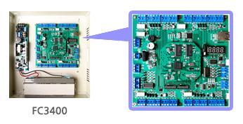 Thiết bị đầu cuối kiểm soát truy cập model FC3400