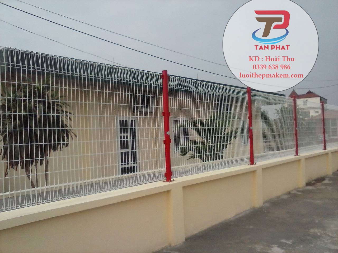 Hàng rào lưới thép, hàng rào lưới B40, lưới hàng rào, hàng rào lưới thép hàn
