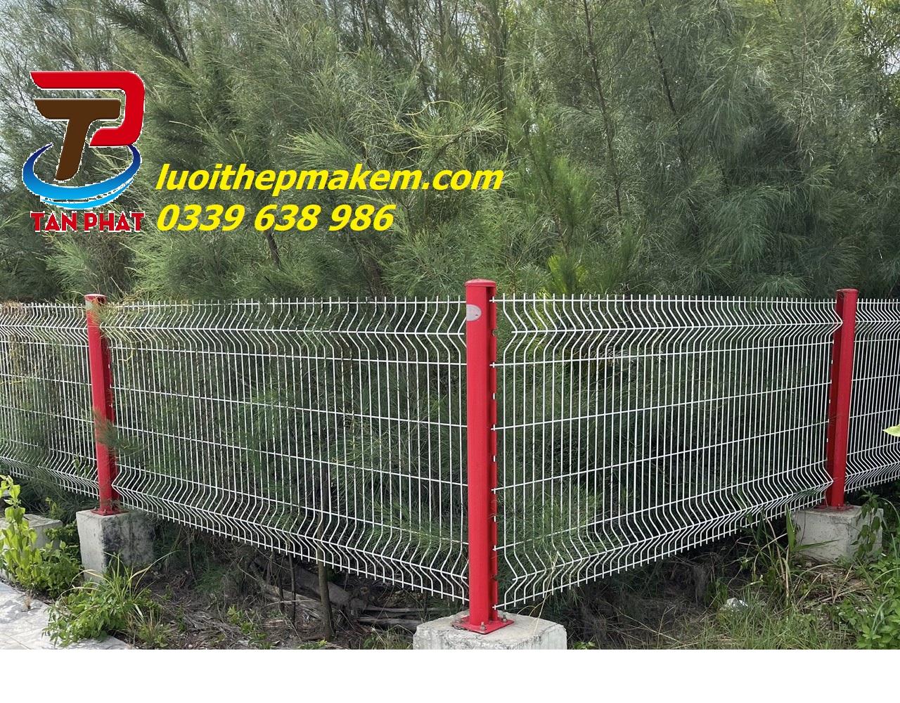 Báo giá hàng rào lưới thép, lưới  hàng rào