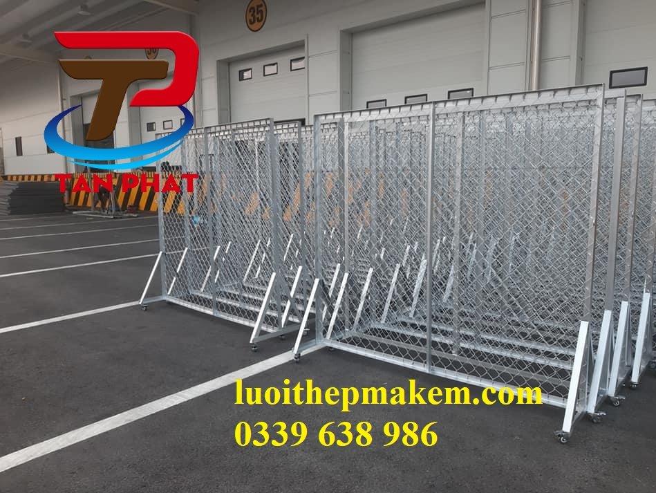 Hàng rào di động lưới B40 mạ kẽm