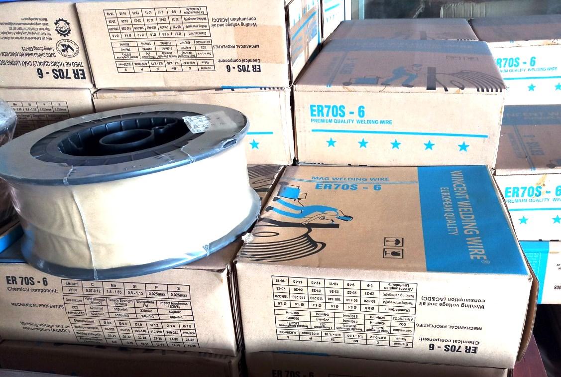 Dây hàn không lõi thuốc MIG 0.8mm và 1.2mm- 5kg/ cuộn