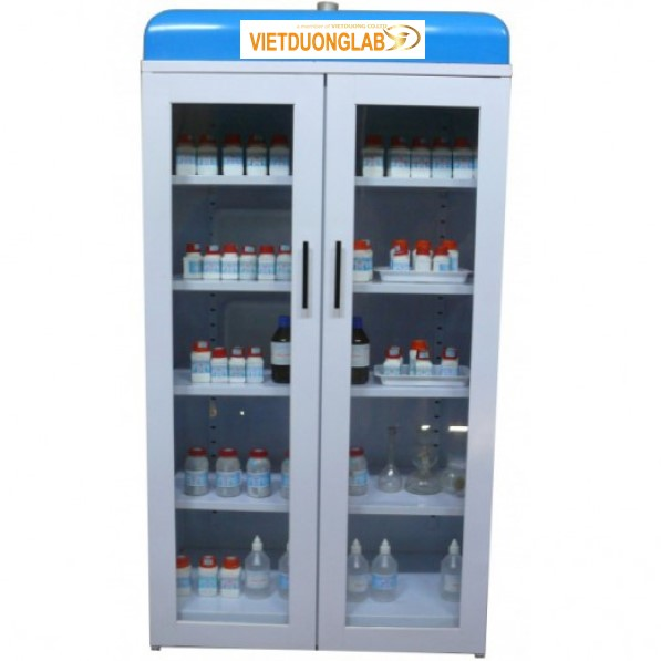 Chuyên tư vấn thiết kế lắp đặt tủ đựng hóa chất có khử mùi – Lab. Chemical Storage cho phòng thí nghiệm