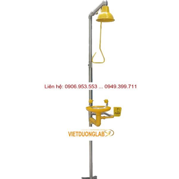 Chuyên tư vấn thiết kế lắp đặt vòi sen khẩn cấp – Emergency Shower and Eye wash cho phòng thí nghiệm