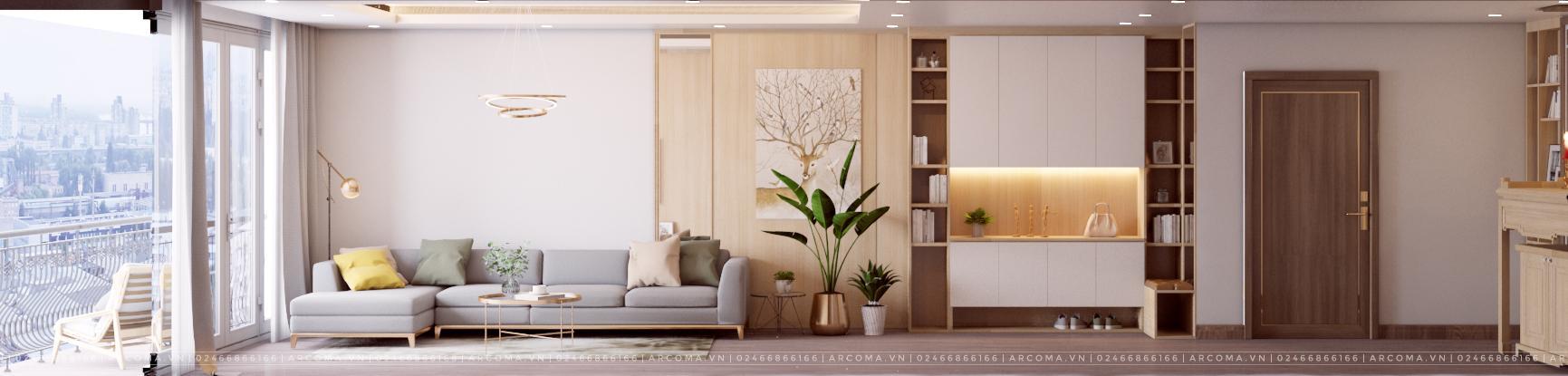 Thiết kế thi công nội thất căn hộ chung cư Bohemia Resedence