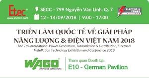 Thư mời triển lãm năng lượng điện 2018 - Gian hàng WAGO