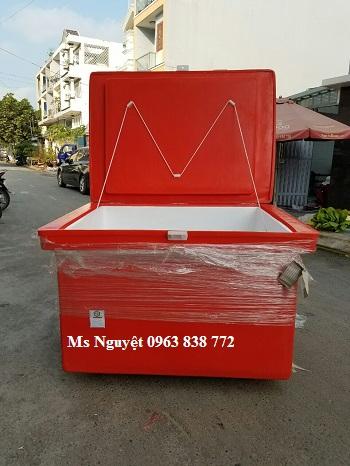Thùng đá Thái Lan/ thùng giữ lạnh 800L/ bán thùng đá