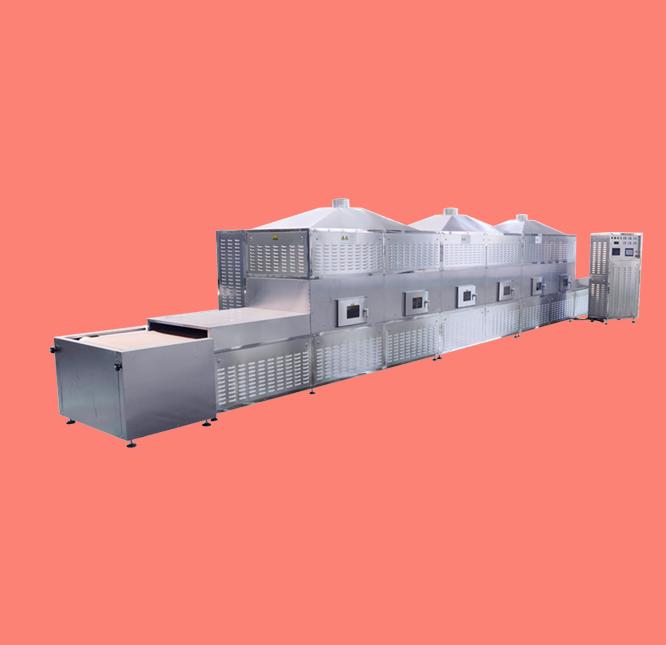 Máy sấy vi sóng dạng băng tải model SVB-001Q-A