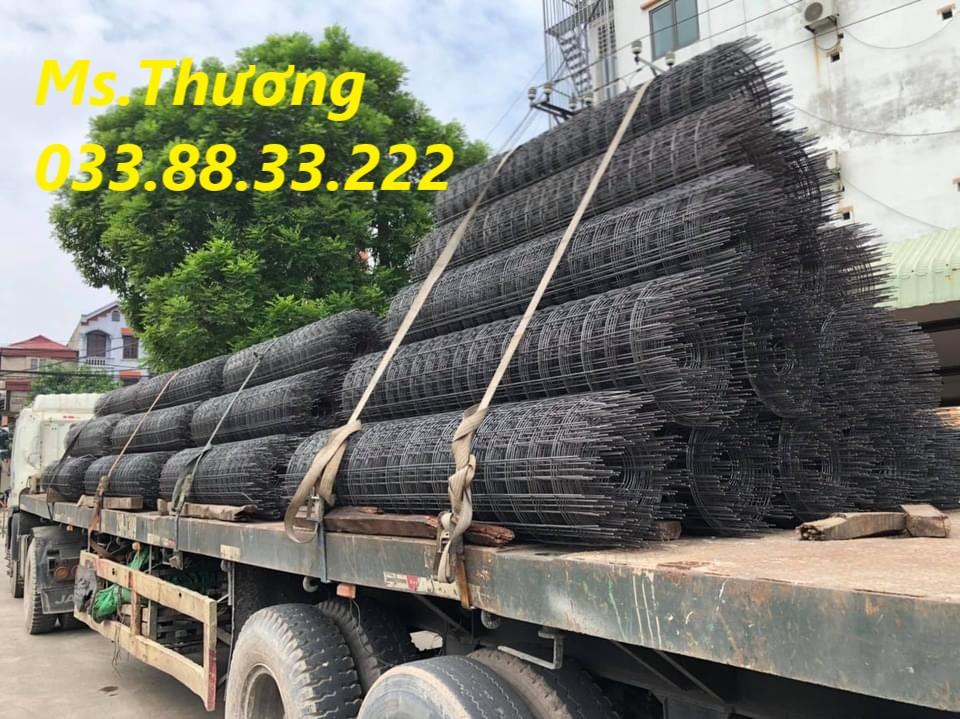 Lưới thép hàn cuộn mạ kẽm dày 3 ly mắt 10cm hàng có sẵn