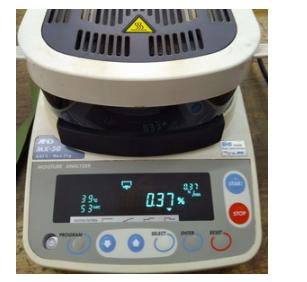 MX-50 MF-50 ML-50 MS-70: cân máy độ ẩm AND Nhật
