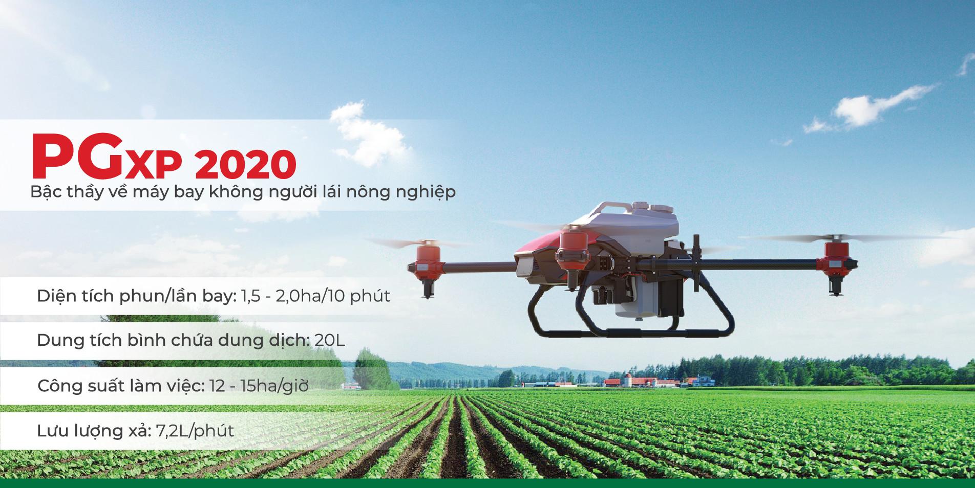 Máy bay nông nghiệp PGxp2020
