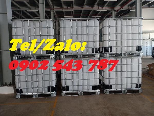 Bể nhựa IBC 1000 lít chứa nước nông nghiệp