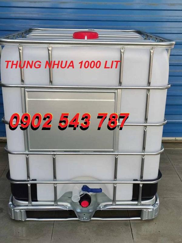 Tank IBC 1 tấn chất lượng tốt