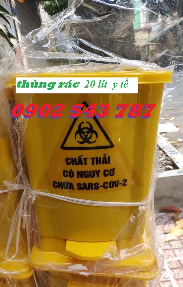 Thùng rác y tế phân loại rác thải