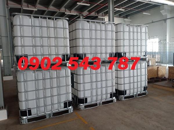 Tank nhựa IBC 1000 lít đựng hóa chất