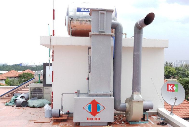 Hệ thống xử lý khí thải công nghiệp, phòng thí nghiệm
