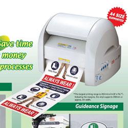 Máy in và bế cắt nhãn CPM-200GM