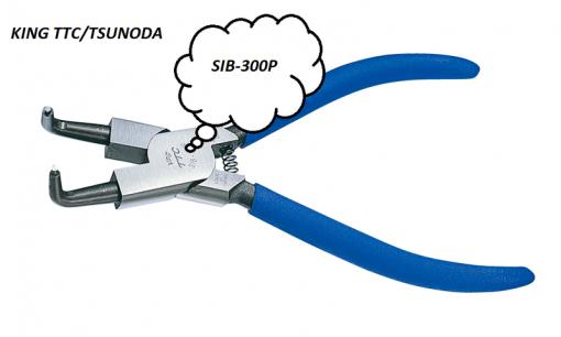 Kìm bóp phe mũi cong 12 inch Tsunoda SIB-300P