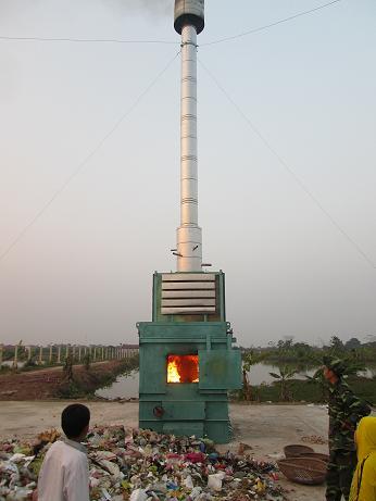 Lò đốt rác thải Losiho