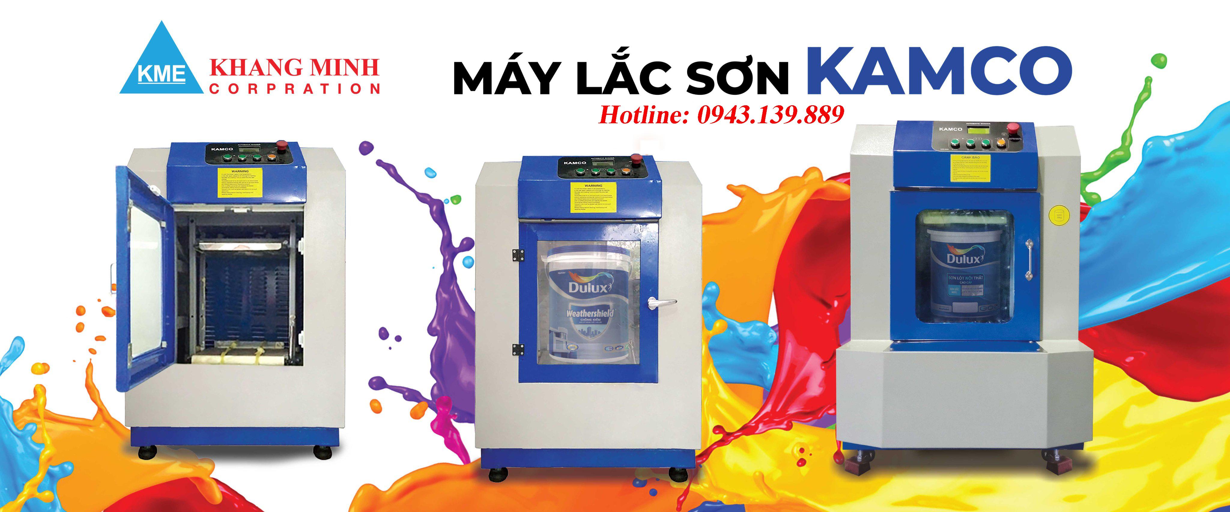Máy lắc sơn Kamco LS02