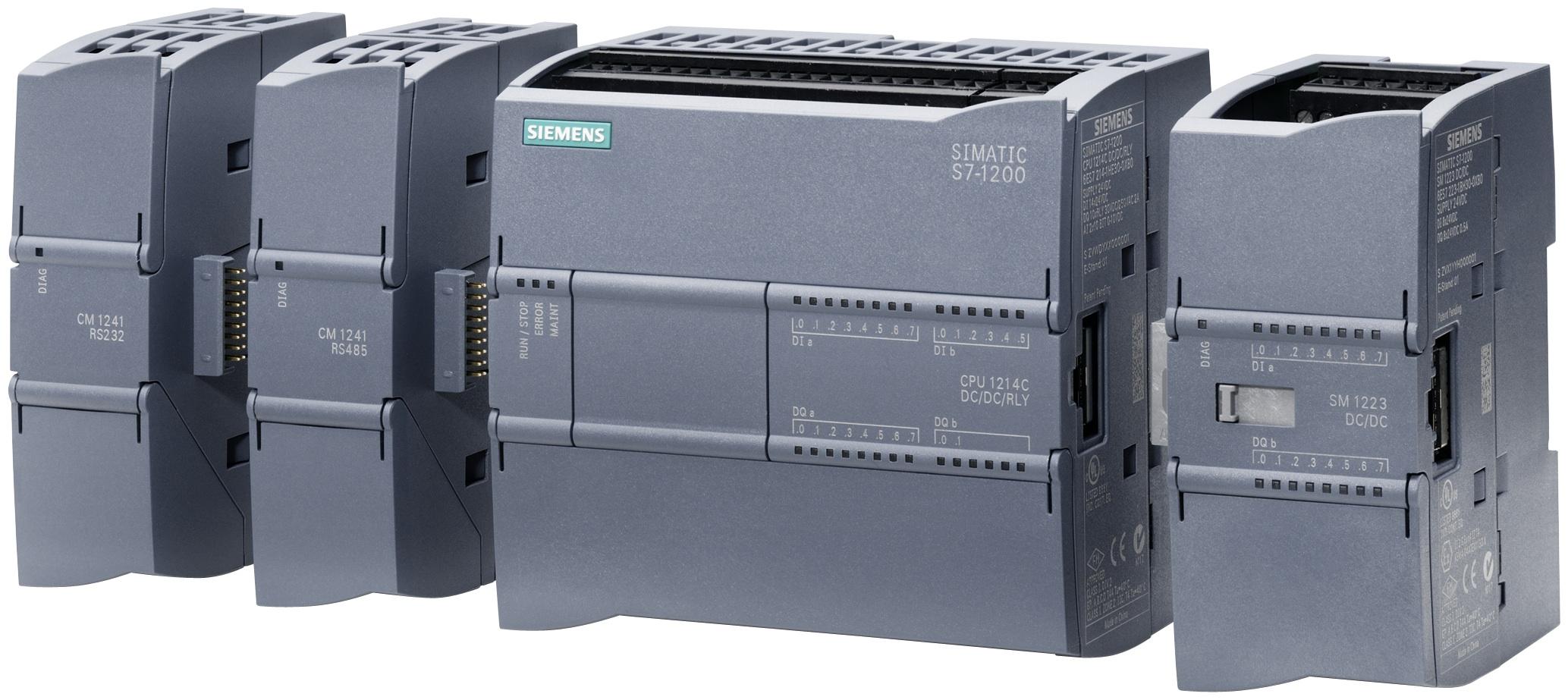 Bộ điều khiển lập trình PLC Siemens- S7 1200