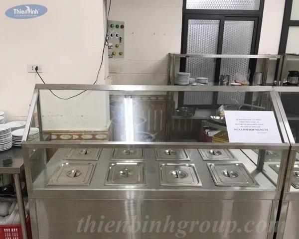 Tủ giữ nóng thức ăn 4 khay
