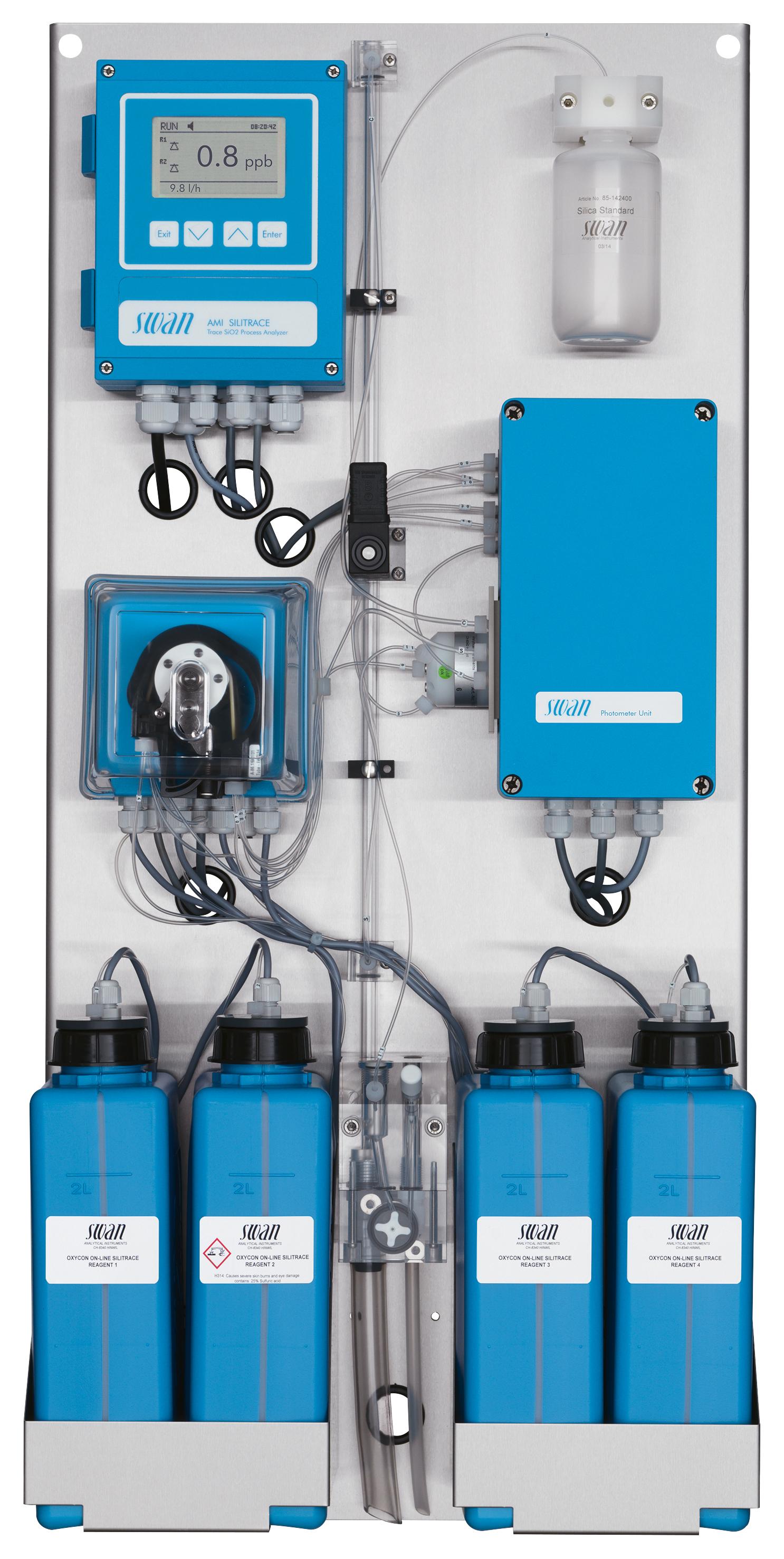 Thiết bị đo Silica (Sio2) Online