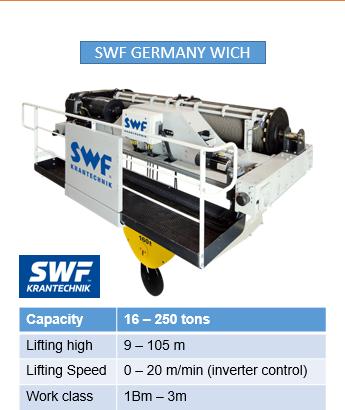 Tời nâng hạng nặng SWF